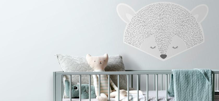 wallstickers baby værelse