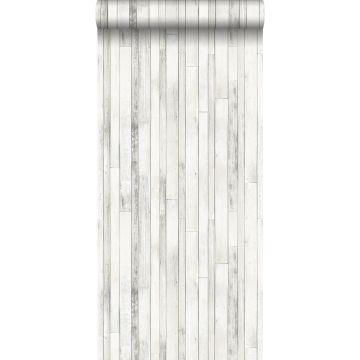tapet træstumper gammeldags hvidt fra ESTA home