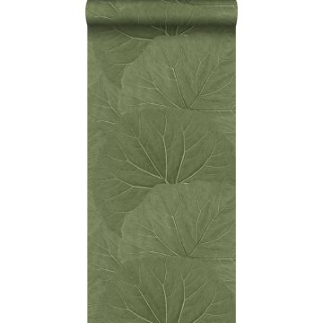 tapet store blade olivengrønt fra ESTA home
