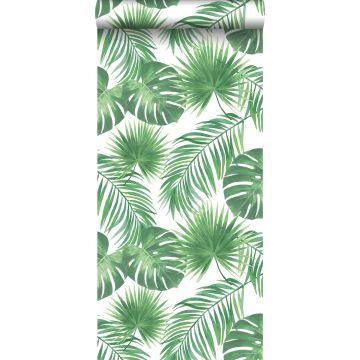tapet tropiske blade grønt fra ESTA home