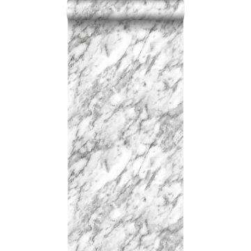 tapet marmor sort og hvidt fra ESTA home