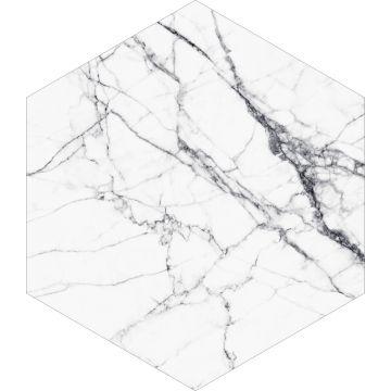 wallsticker marmor sort og hvidt fra ESTA home