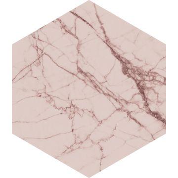 wallsticker marmor grårosa fra ESTA home