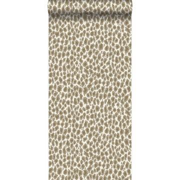 tapet leopardskind beige fra Origin