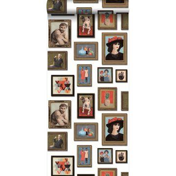 tapet malerier elfenbenshvidt fra Origin
