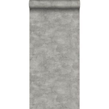 tapet betonlook mørkegråt fra Origin