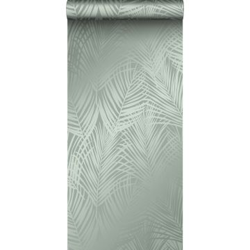 tapet palmeblade gråligtgrønt fra Origin