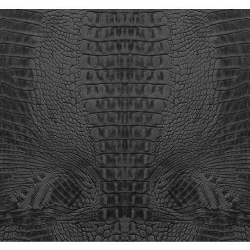 fototapet krokodillehud sort fra Origin