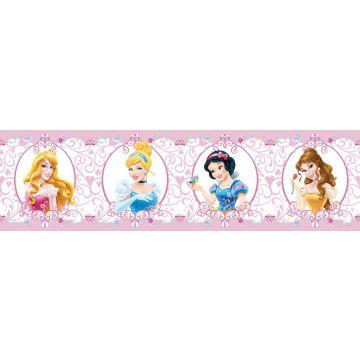 selvklæbende tapetbort Prinsesser lyserødt fra Sanders & Sanders